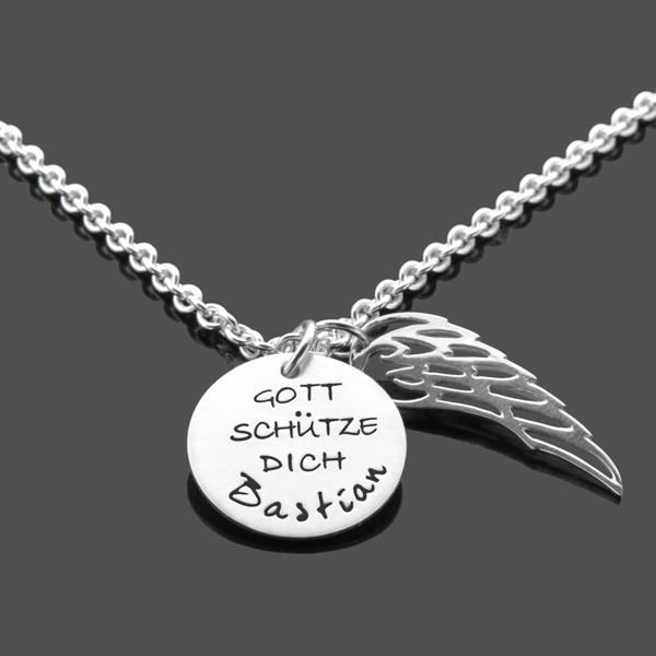 Taufkette-Junge-Fluegel-925-Silber-Taufgeschenk