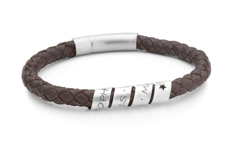 Armband für Herren mit Namen