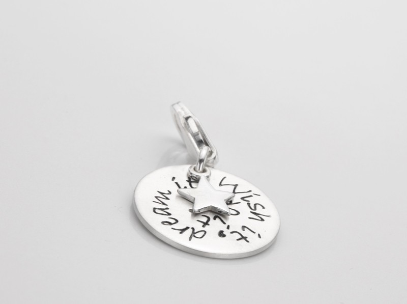 WISH IT 925 Silber Charm