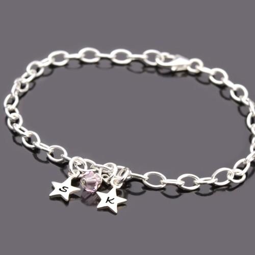 Silber-Fukette-mit-Initialen-und-Stern