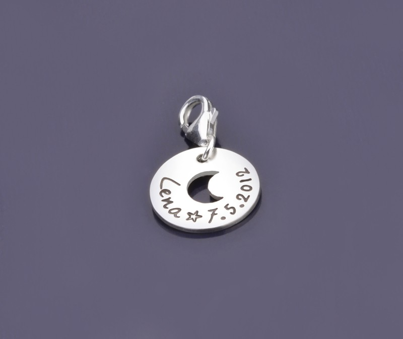 UNDER THE MOON 925 Silber Charm