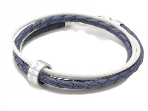 Lederarmband LADIES SECRET 925 Silber Armband mit Gravur Lederschmuck