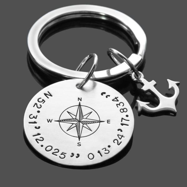 Schlüsselanhänger GPS ANKER