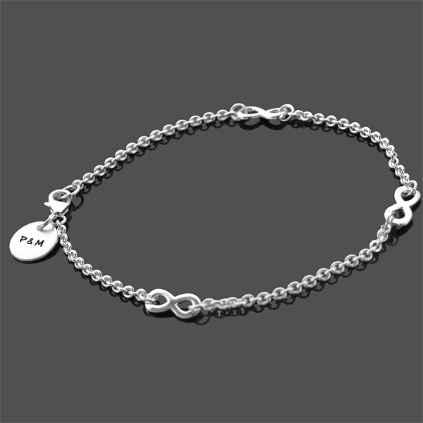 TOGETHERNESS Armband mit Gravur, 925 Silber