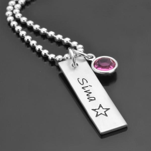 NAME IT 925 Silberkette