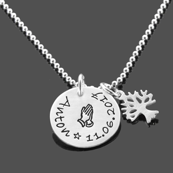 Taufkette-Junge-925-Silberkette-Gravur-Lebensbaum