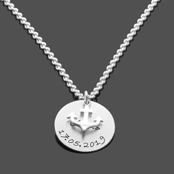 Taufkette-fuer-Jungen-925-Silber-Kette-mit-Gravur-Taufgeschenk-Junge-Namens