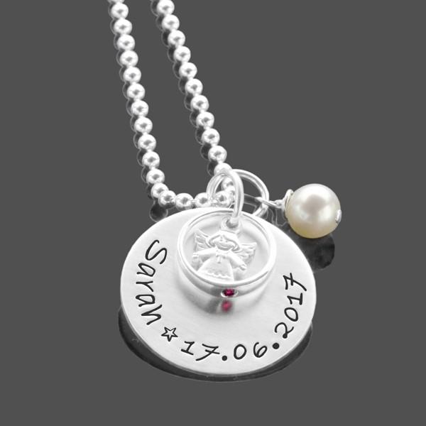 Taufkette-Gravur-925-Silber-Taufschmuck-Taufring