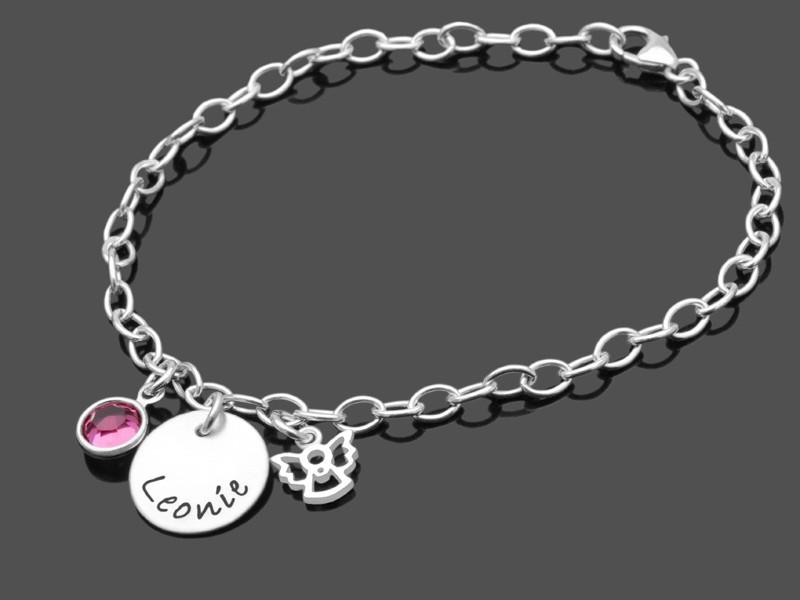 Kinderarmband MEIN KLEINER ENGEL Armband mit Engel für Mädchen