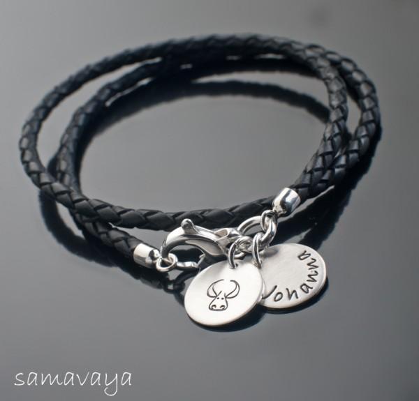 STERNZEICHEN 925 Silber Armband