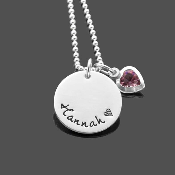 Namenskette-Maedchen-Silber-Kinderkette-Herz-mit-Gravur