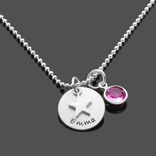 Kinderkette-Gravur-925-Maedchenkette-Kinderschmuck