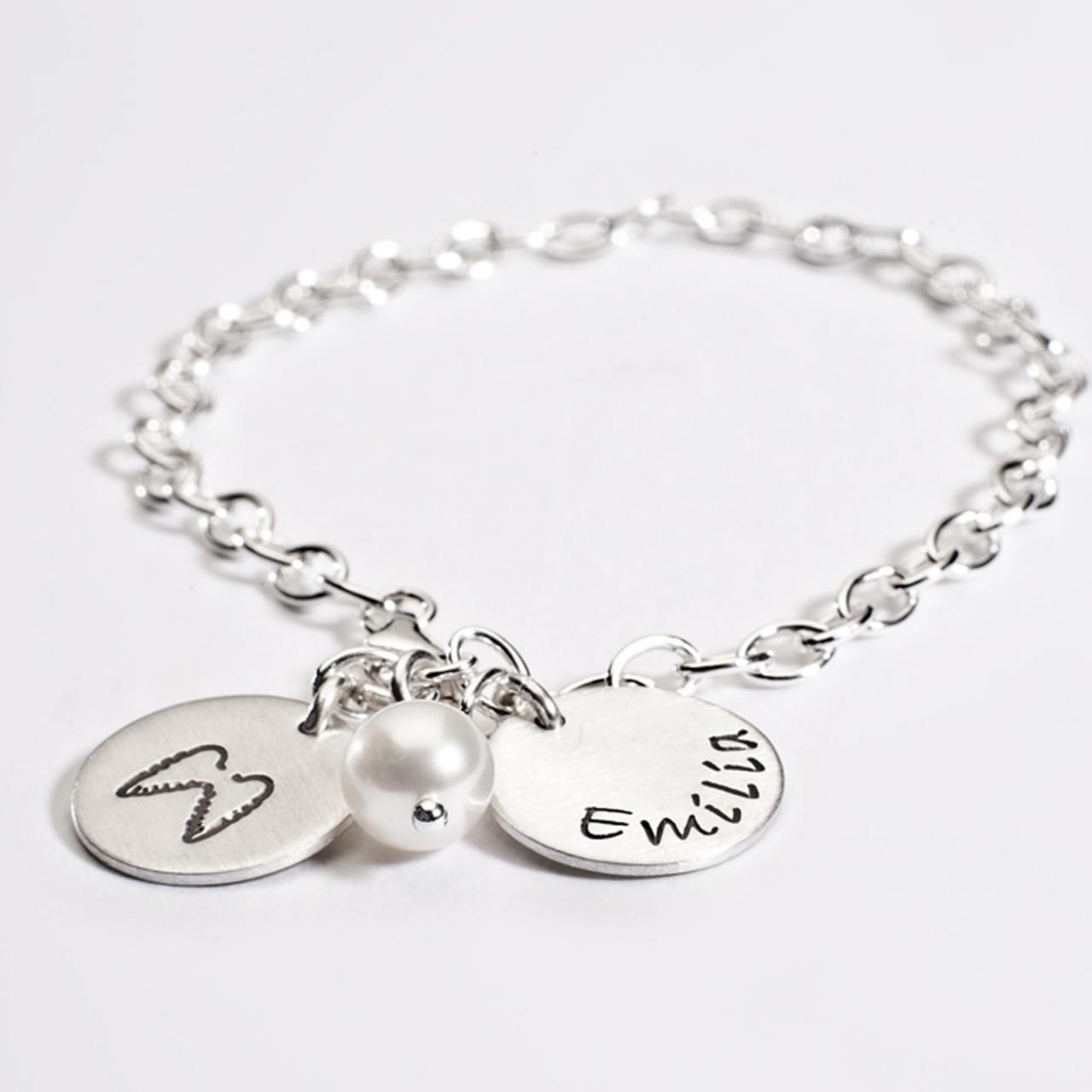 925-Silber-Fukette-mit-Perle-und-Engelsfluegel