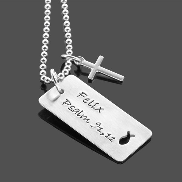 Kommunion Konfirmation Blessing Kreuz Namenskette