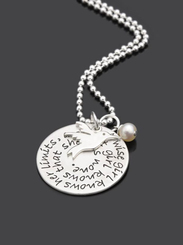 NO LIMIT 925 Silber Kette, Schmuck mit Gravur, Wunschtext