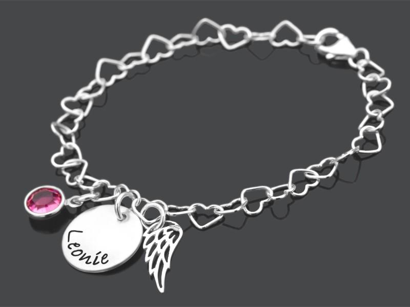 Kinderarmband WINGED 925 Silber Armband für Mädchen