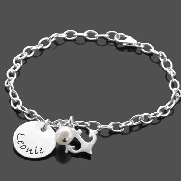 Silberarmband-Konfirmation-925-Silber-Namensarmband-Geschenk
