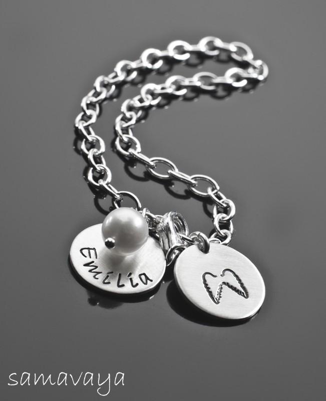 BESCHÜTZT 925 Silber Armband
