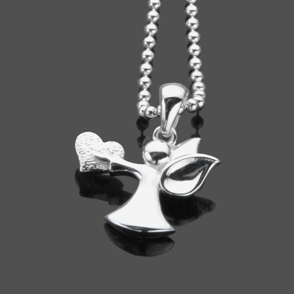 Schutzengel-Kette-925er-Silber-Engel-Kette