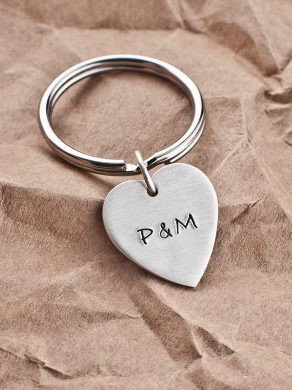 Schlüsselanhänger mit Gravur Herz
