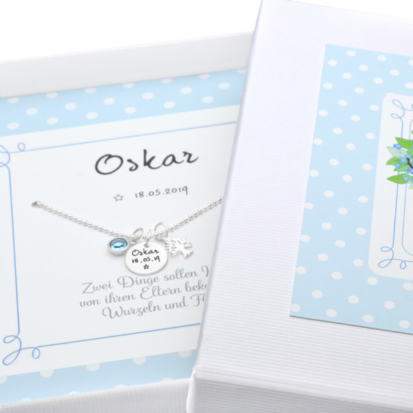 Geschenk-zur-Geburt-Namenskette-zur-Geburt-Junge-Geschenkbox