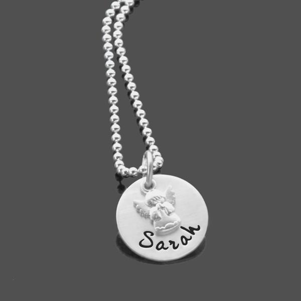 Taufkette-mit-Gravur-Namenskette-925-Silberkette-Kinderkette