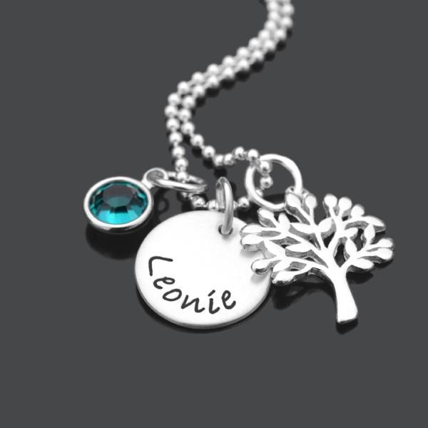 Taufkette-Lebensbaum-Taufschmuck-Silber-Gravur