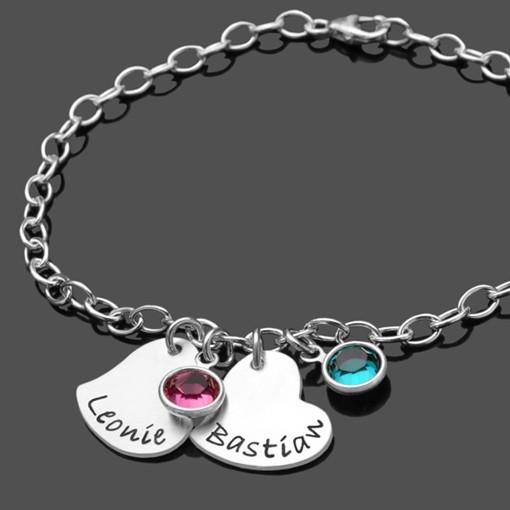 Fukettchen-925-Silber-Fukette-mit-Namen,-Anhaenger-in-Herzform