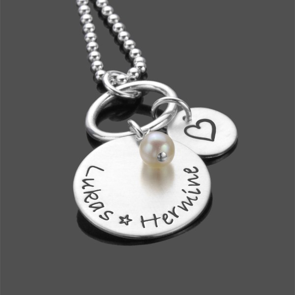 Namenskette THE POWER OF LOVE 925 Silber Kette
