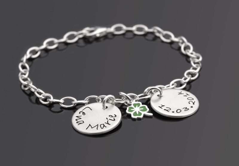 GLÜCK 925 Silber Armband