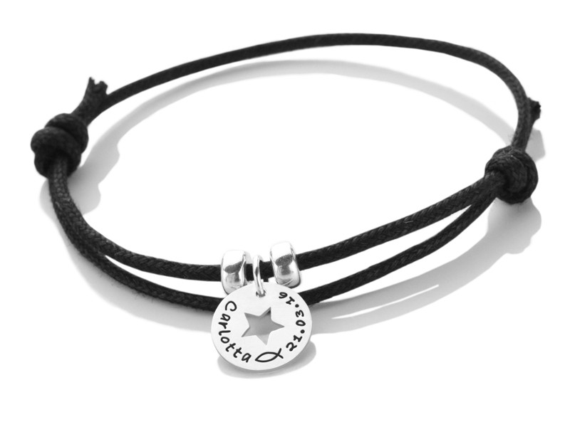 Taufschmuck STARLET 925 Silber Armband Geschenk zur Taufe