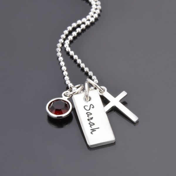 Kommunion Konfirmation Kette OH LORD Kette Kreuz