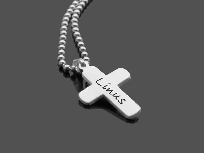 Kette zur Kommunion KREUZ 925 Silber Kreuz zur Konfirmation Kommunion Firmung