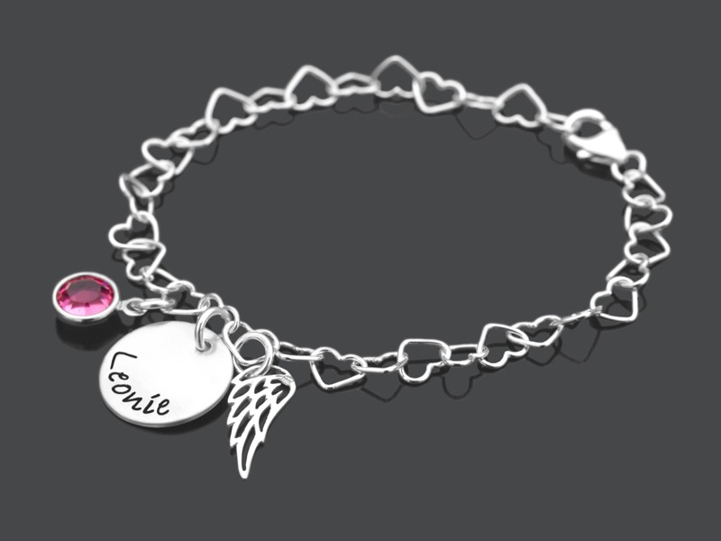 Kinderarmband WINGED 925 Silber Armband für Mädcheen