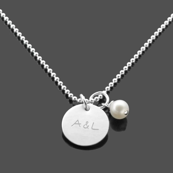 Partnerkette-Gravur-925-Silber-Kette-Gravur-Initialen